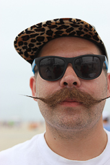 Mustache Contest in Long Beach