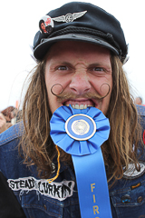 Mustache Contest in Long Beach winner
