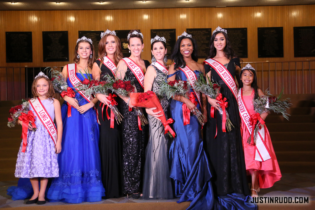 Miss Long Beach 2016 titleholders