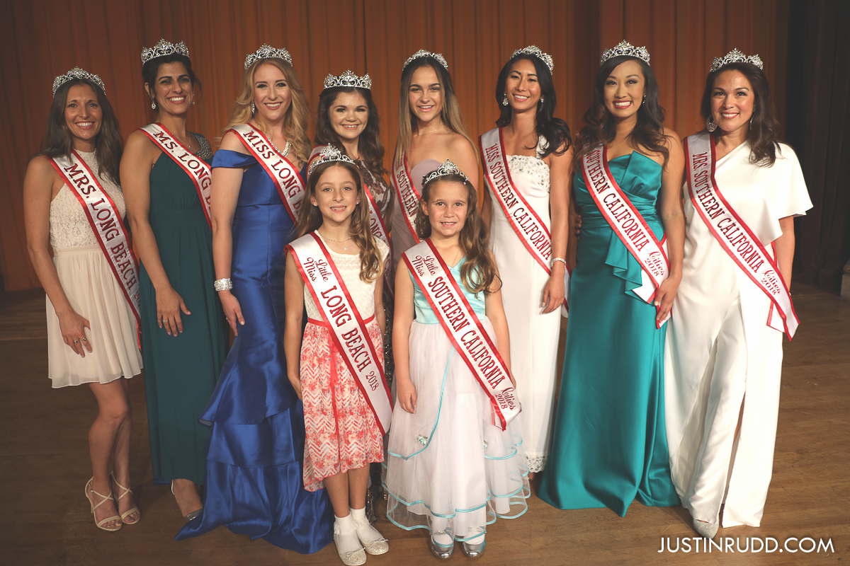 2018 Miss Long Beach titleholders